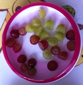 Grapes for snack